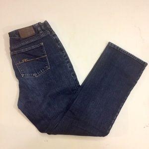 Lauren Ralph Lauren Dark Wash Straight Jeans